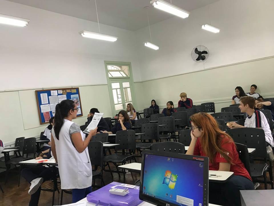 Estudantes participam do simulado ENEM Salesiano 2018
