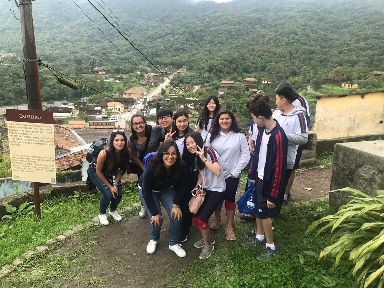 7º ano visita a Cidade de Paranapiacaba